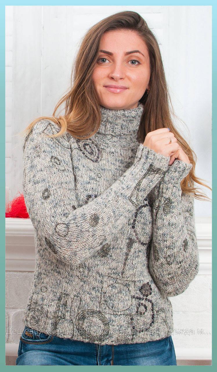 Женский свитер мохер зима оптом от 3 шт