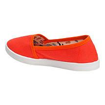 Мокасины OLDCOM Canvas оранжевые, фото 3