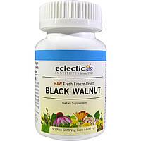 Черный орех (Black Walnut), Eclectic Institute, 400мг, 90 капсул
