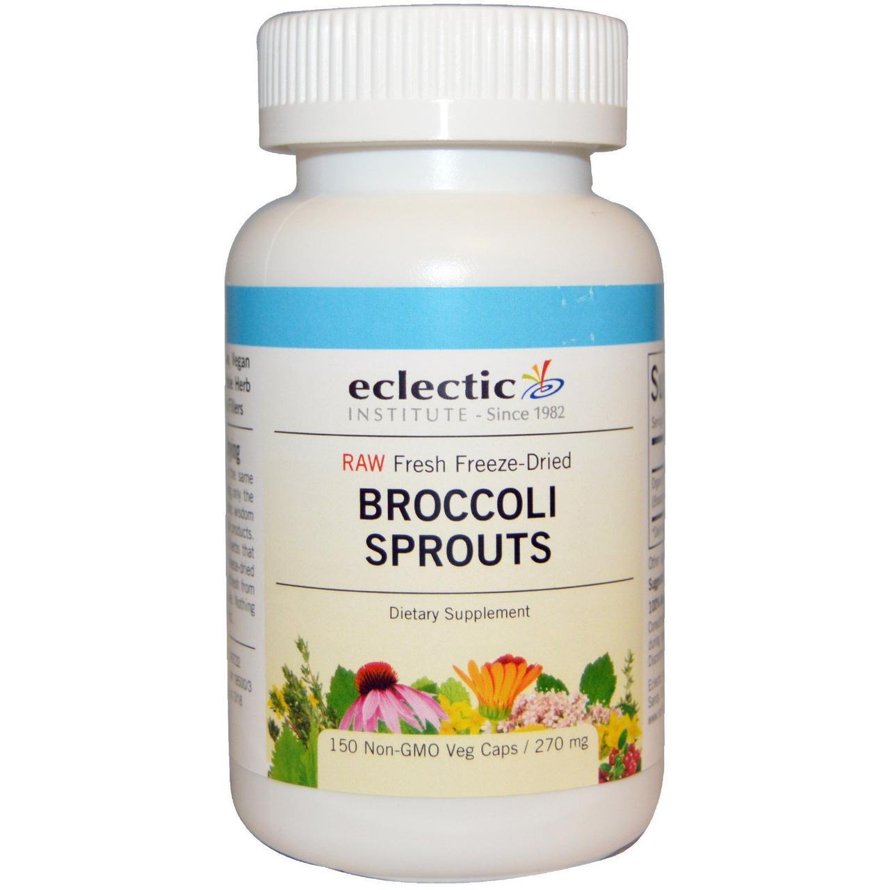 Экстракт брокколи, Eclectic Institute, 270 мг, 150 кап.
