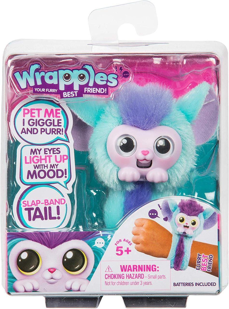 Лител лайф игрушка браслет Шило Little Live Wrapples Slap Bracelets  Shylo