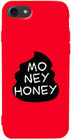 Чехол-накладка TOTO Matt TPU 2mm Print Case Apple iPhone 7/8 #43 Moneyhoney Red
