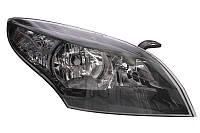 Фара правая Renault Megane III (дорестайл) 2009 - 2011, электр., темный корпус + сервопривод, (Depo, 551-1178RMLDEM2) OE 260102973R - шт.