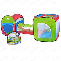 Палатки игровые, палатки с тоннелем, домики