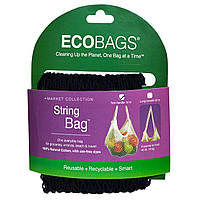 Eco-Bags Products, Коллекция Market, сетчатая сумка, черная, 1 сумка