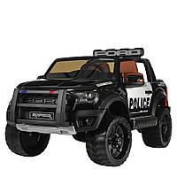 Детский электромобиль джип Ford Police Полиция M 4173EBLR-2 черный