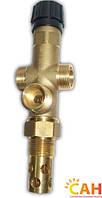 Двухходовой защитный клапан для твердотопливного котла САН