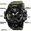 Skmei 1155 B HAMLET зеленые спортивные часы, фото 2