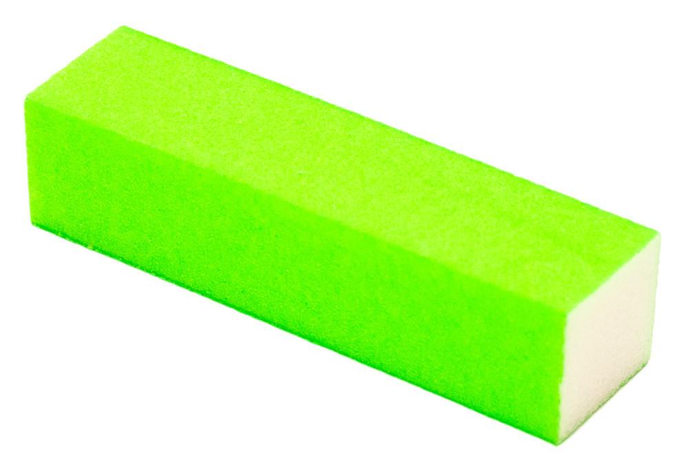 Баф для ногтей квадратный зеленый