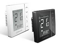 Программируемый электронный терморегулятор с функцией NSB, Salus VS30B, встраиваемый, черный