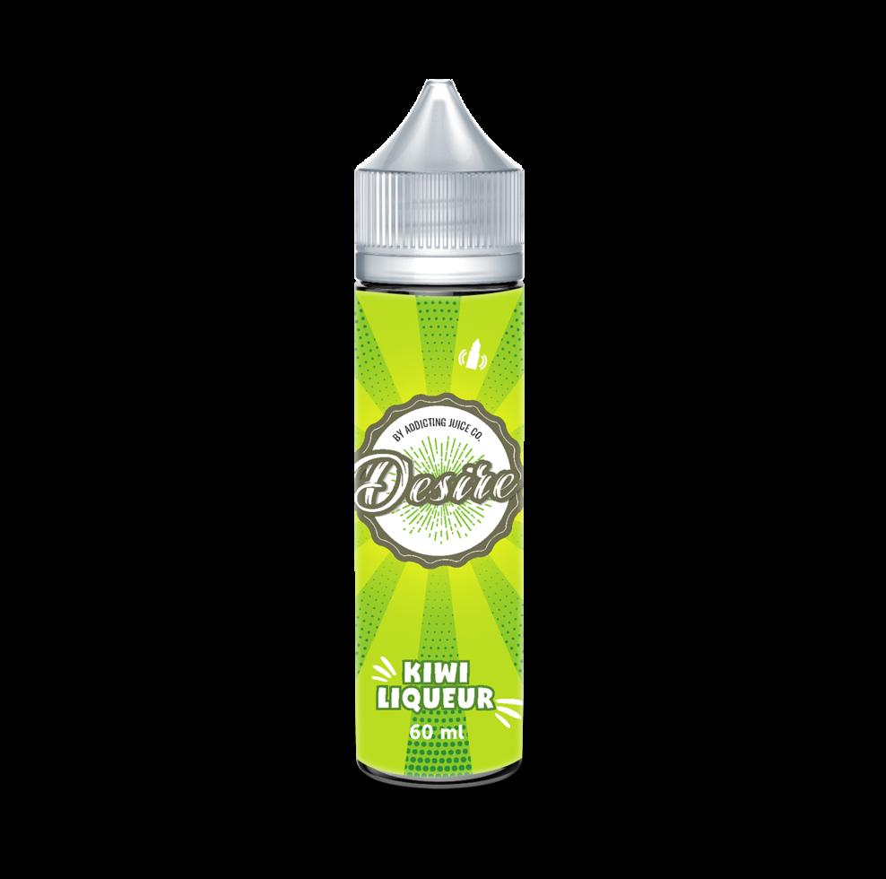 Жидкость для электронных сигарет DESIRE Kiwi Liqueur 0 мг 60 мл