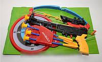 Арбалет М0005 (стрелы на присосках, прицел, лазер) КК, АS, HN