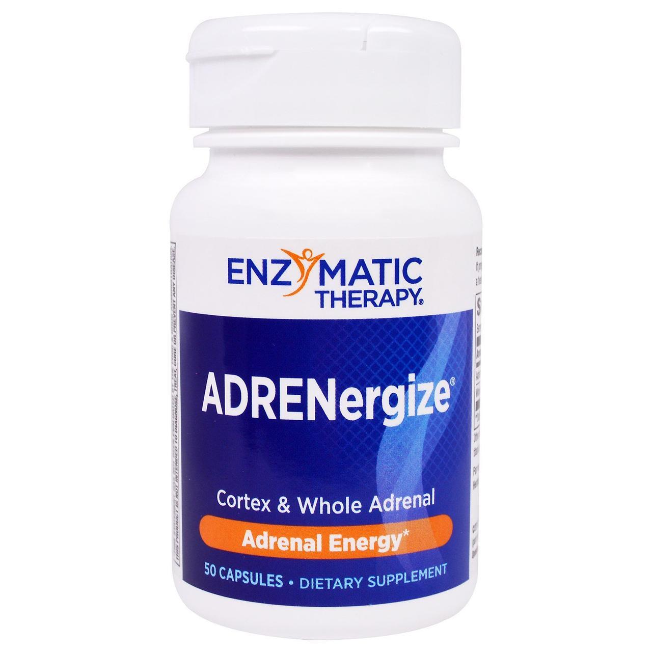 Підтримка надниркових залоз, Enzymatic Therapy, 50 капс.