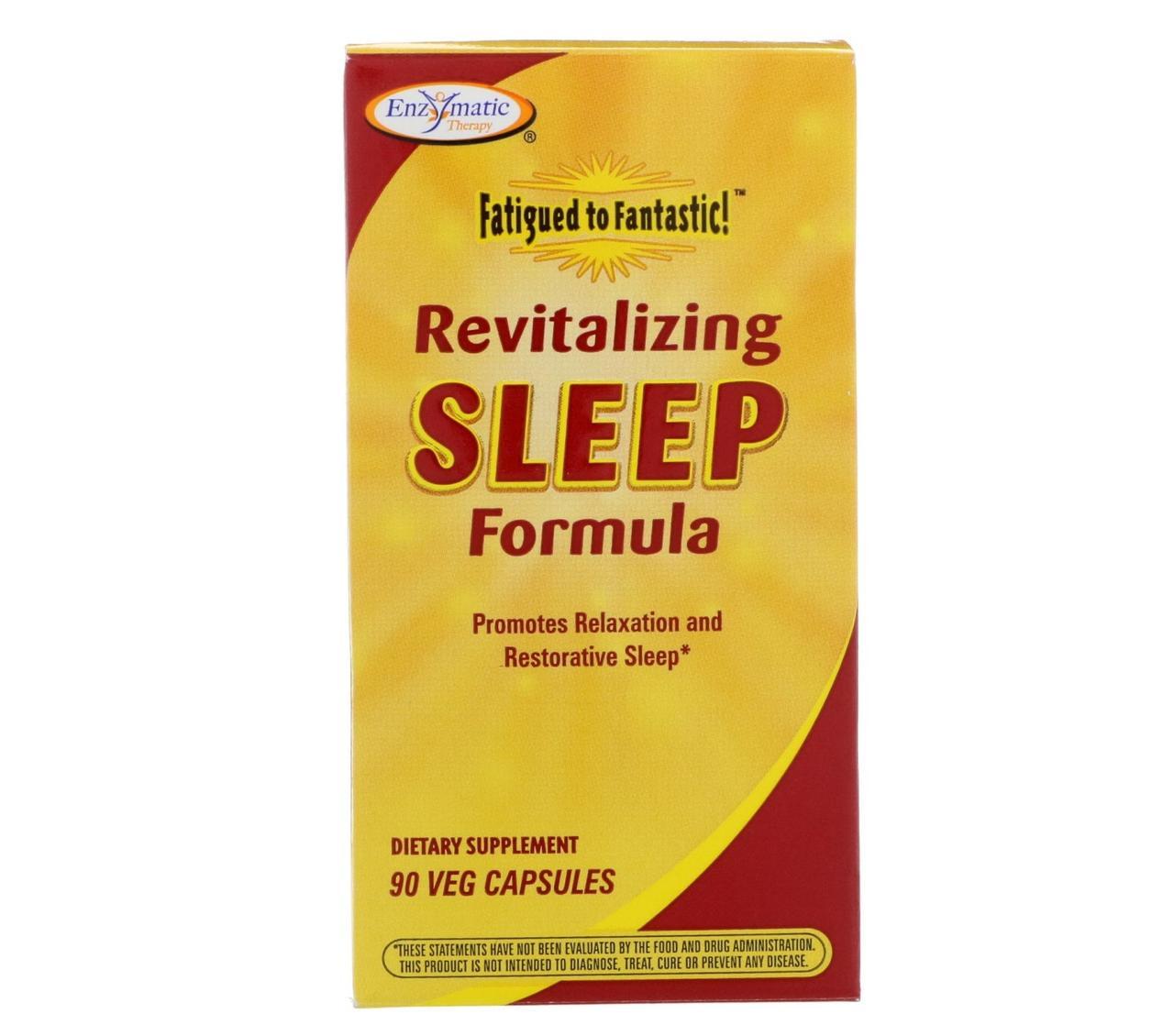Здоровий сон, Enzymatic Therapy, 90 капсул
