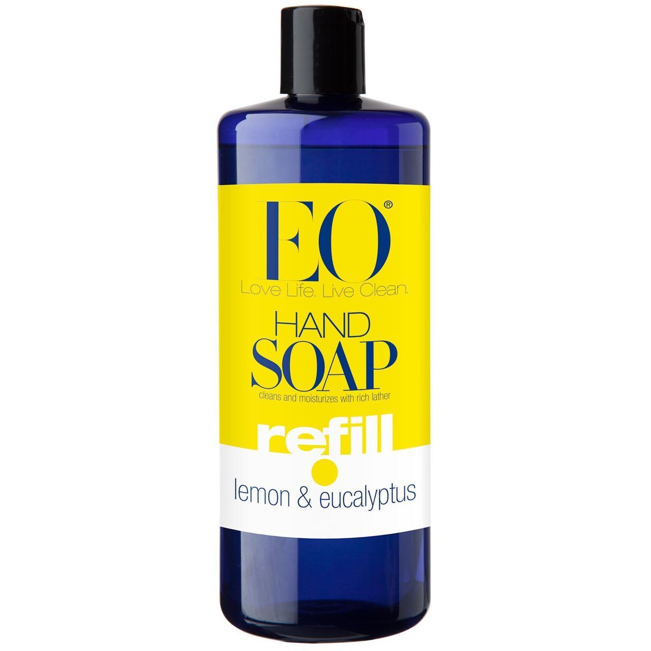 Мило для рук, лимон, евкаліпт, EO Products, 946 мл