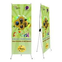 Х-баннер (паук)+ баннер с печатью 100х200см