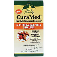 Курамед против воспаления CuraMed, 750 мг, EuroPharma, 60 капсул, фото 1