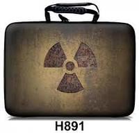 """Чехол HQ-Tech H891 (с диагональю 10.2 """", гламур,"""" Радиация """")"""
