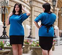 Женское асимметричное платье с хвостом