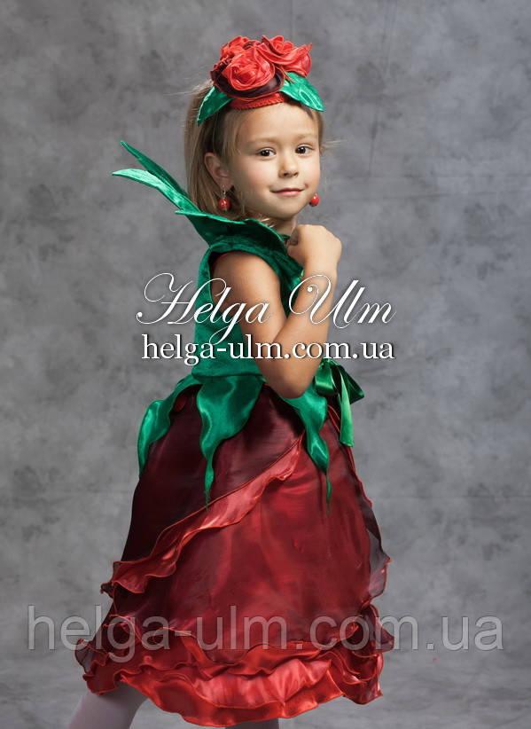 """Карнавальний костюм """"Троянда"""", """"Роза"""" - ПРОКАТ по Україні"""