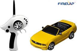 Автомодель на радиоуправлении 1к28 Firelap IW02M-A Ford Mustang 2WD. желтый - 139657