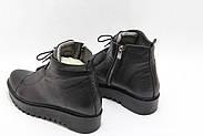 Стильні турецькі черевики Aras Shoes K53-siyah, фото 3