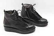Стильні турецькі черевики Aras Shoes K53-siyah, фото 2