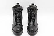 Стильні турецькі черевики Aras Shoes K53-siyah, фото 5