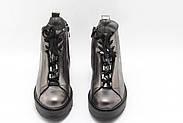 Удобные осенние ботинки Aras Shoes K53-Platin, фото 4