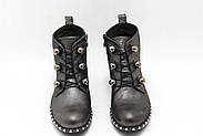 Стильные классические турецкие ботинки Aras Shoes 417-Gelik, фото 4
