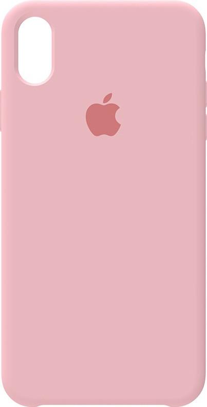 Чехол-накладка Apple Silicone Case iPhone XS Max Rose Pink