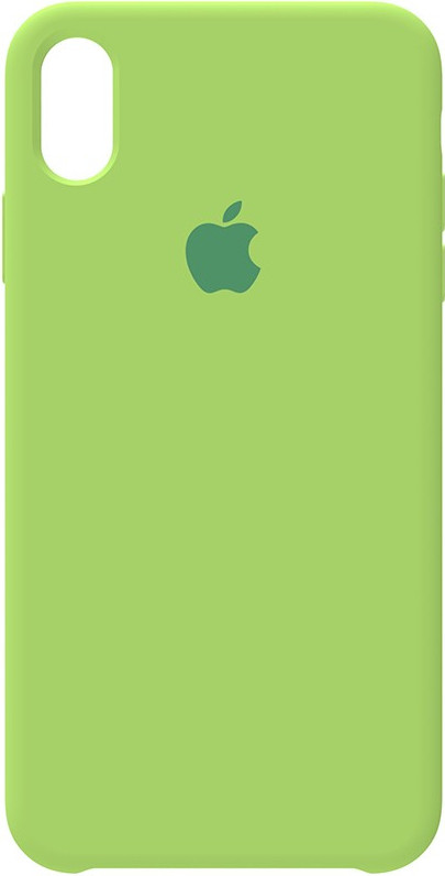 Чехол-накладка Apple Silicone Case iPhone XS Max Green