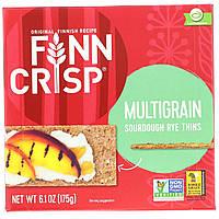 Мультизлаковые хрустящие хлебцы, Crispbread, Finn Crisp, 175 г.