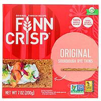 Тонкие ржаные хлебцы, Crispbread, Finn Crisp, 200 г.
