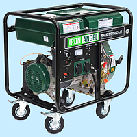 Генератор дизельный IRON ANGEL EGD 5000 CLE (4.2 кВт)