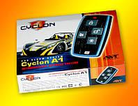 CYCLON - Автосигнализация Cyclon A1, автомобильная электронная охранная система, односторонняя