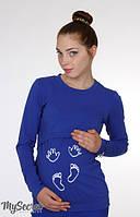 Облегающий лонгслив для беременных Carety long , фото 1