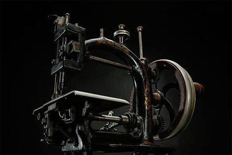 Цепная швейная машина для соломенных шляп