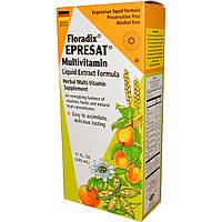 Flora, Флорадикс, мультивитамин Epresat, состав с жидкими экстрактами, без спирта, 17 жидких унций (500 мл)