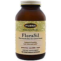 Ортокремниевая кислота, Flora, 180 капсул