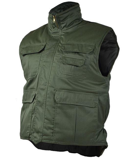 Тёплый жилет MilTec Ranger Olive 10706001 XL