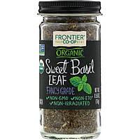 Frontier Natural Products, Органические сушеные листья базилика, 0,56 унции (16 г)