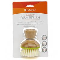 Щетка для мытья посуды, Bubble Up Dish Brush, Full Circle Home LLC, 1 шт