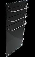 Hglass GHT 5010 чёрная 550/275 Вт инфракрасная стеклокерамическая  сушилка для полотенец