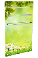 HGlass GHT 5010 фотопечать 550/275 Вт ИК стеклокерамический  полотенцесушитель-обогреватель 2 в 1