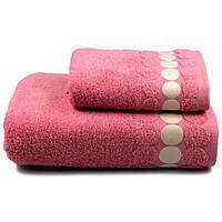 Полотенце Home Line BALLS 70Х140 розовое (104961)