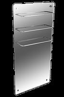 Hglass GHT 5010 зеркальный 550/275 Вт инфракрасная стеклокерамическая  сушилка для полотенец