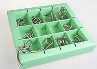 Набор головоломок Eureka 3D Puzzle 10 Metall Puzzles Green