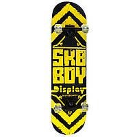 Скейт полупрофессиональный с принтом желто-черный (MS 0355), фото 1