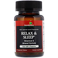 FutureBiotics, Расслабление и сон, 60 растительных таблеток